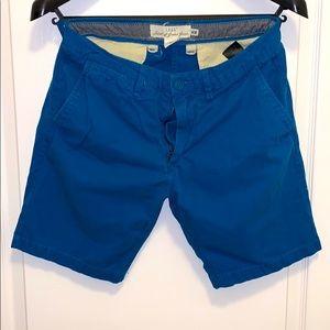 """Men's H&M shorts in blue 29"""" waist"""
